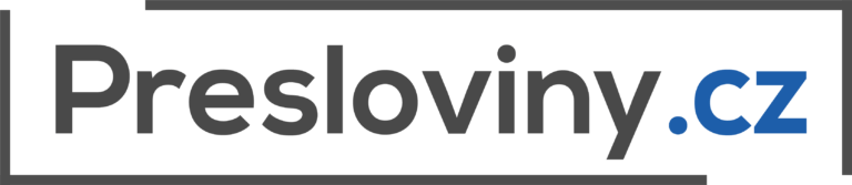 Presloviny - logotyp colored transparent